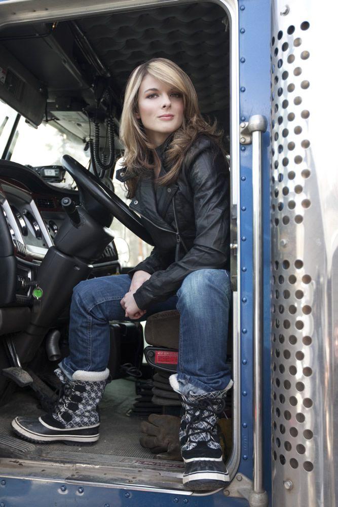 Lisa Kelly | Ice Road Truckers | Pinterest | Rutas