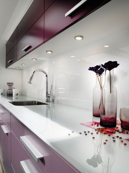 La crédence impose son style Facades, Interiors and Kitchens