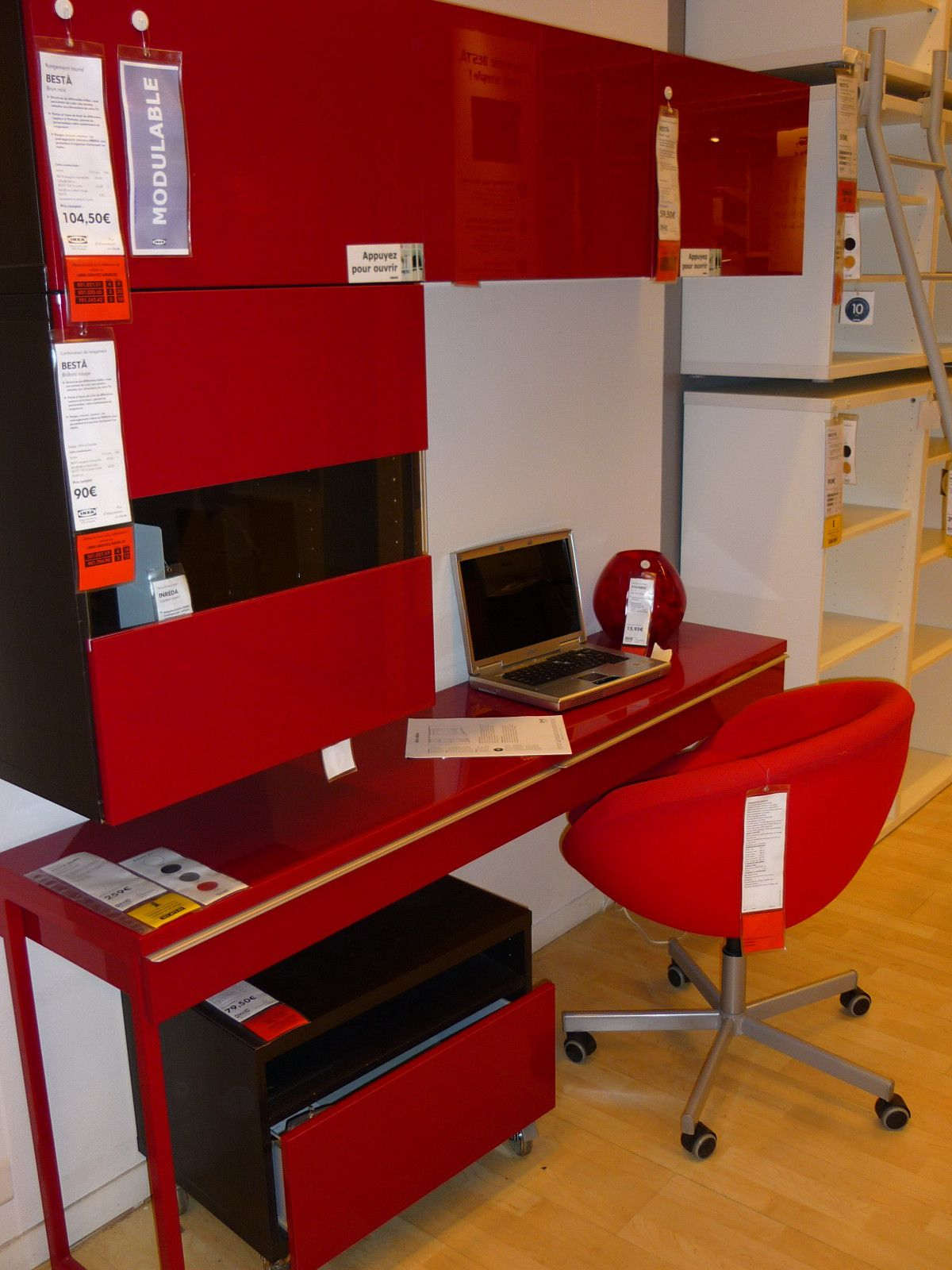 album 11 gamme besta ikea bureaux bibliotheques realisations clients realisations magasins