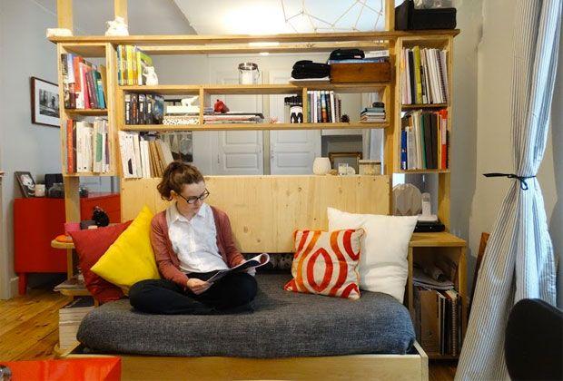 Dans L Appart D Erin Etudiante En Bts Design D Espace A Clermont Ferrand Mobilier De Salon Decoration Maison Maison
