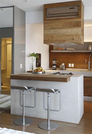 Ideas cocinas con poco 376 550 proyectos for Cocinas en espacios pequenos