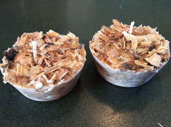 Box Of 24 Sawdust Nugget Fire Starters Made With Soy Wax Wick And A Mixture Of Wood Shavings May Include M Fire Starters Diy Fire Starters How To Make Fire