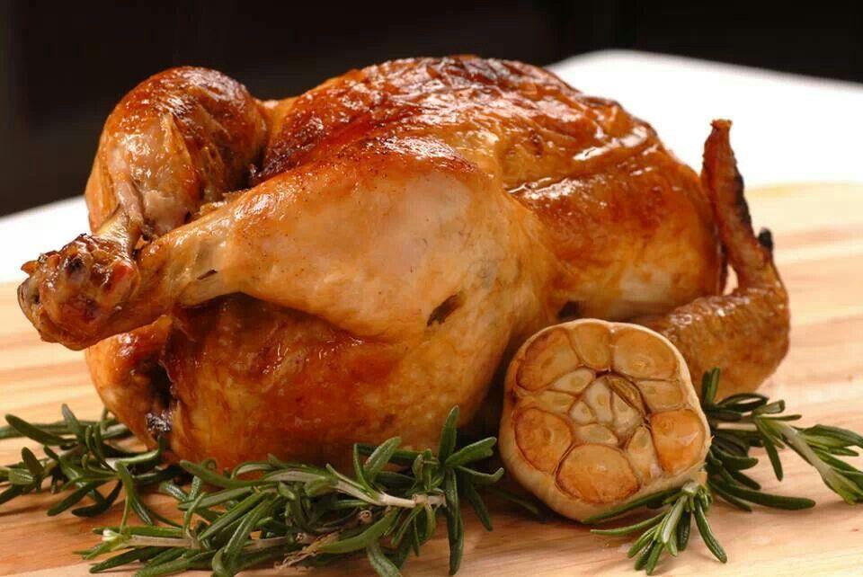 Roasted Garlic Rosemary Chicken | Food & drink! | Pinterest