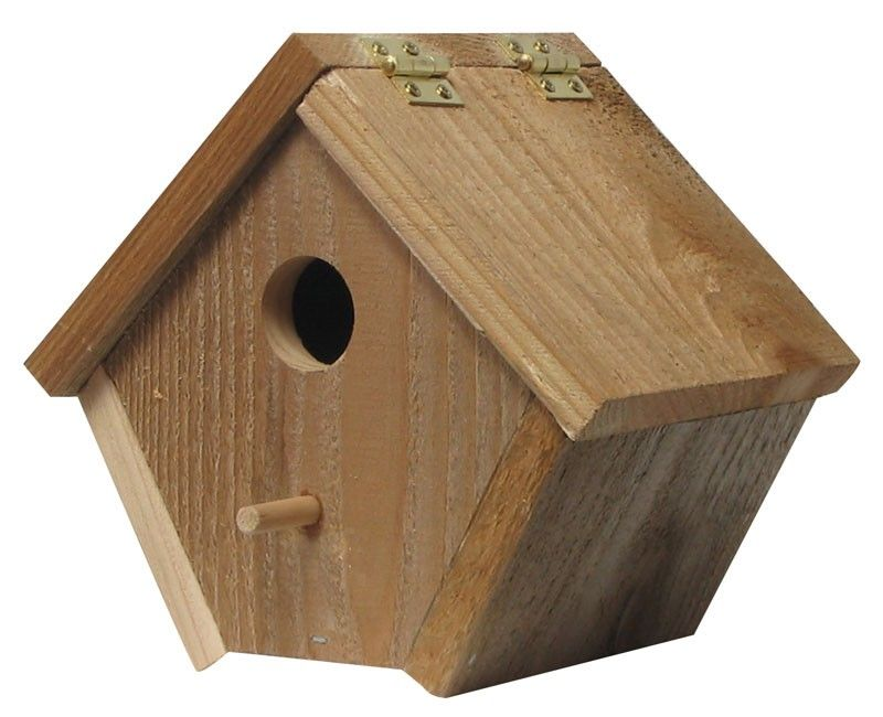 hinged roof birdhouse ideas Pinterest Birdhouse