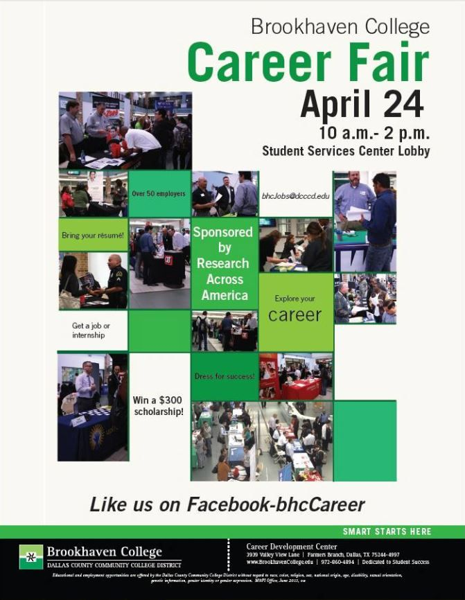 The Brookhaven Career Fair is being held tomorrow in the Student - gcp auditor sample resume