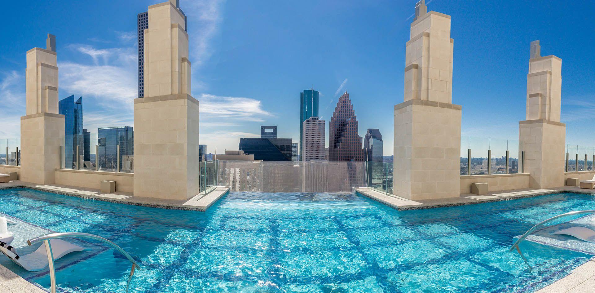 Market Square Tower Jackson Ryan Architects Pool Glass