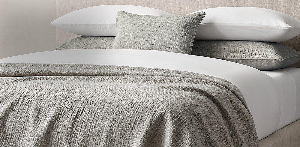 Quilts & Coverlets | RH Modern