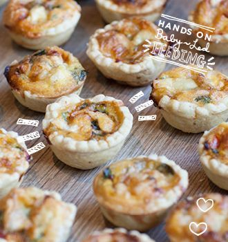 Healthy recipes for baby led weaning cheese quiche roasted red food baby forumfinder Image collections