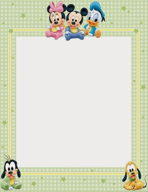 Bebés Disney: imprimibles gratis. 4 modelos diferentes. | clips ...