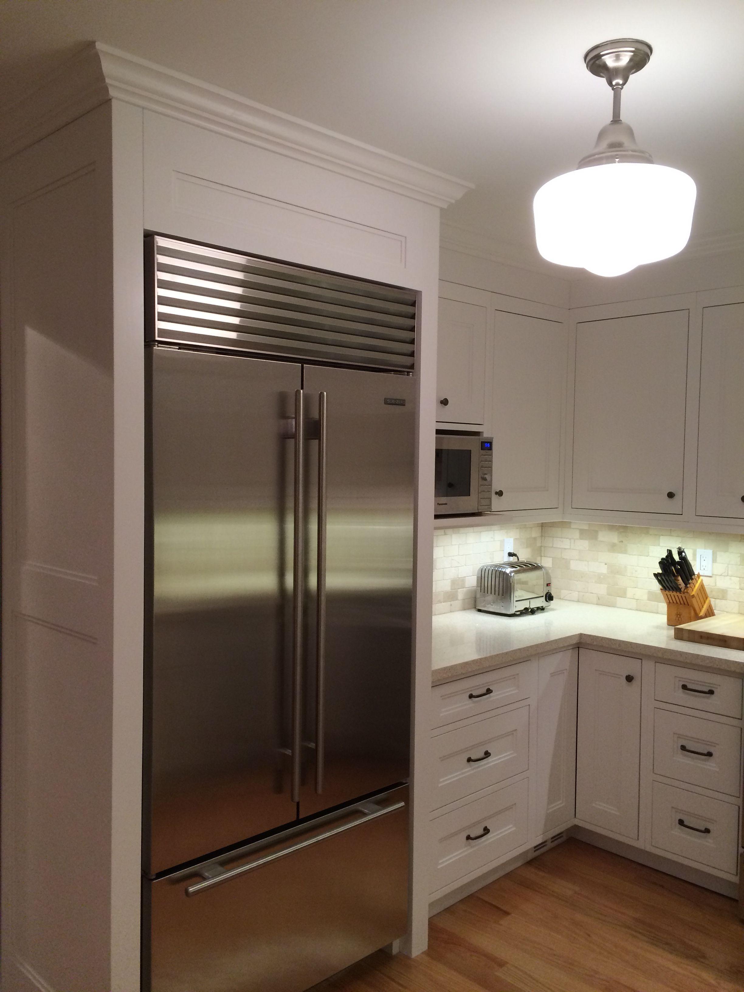 Heritage Carpentry Company Built In Fridge Surround Kitchen Redecorating Kitchen Remodel Kitchen Inspirations