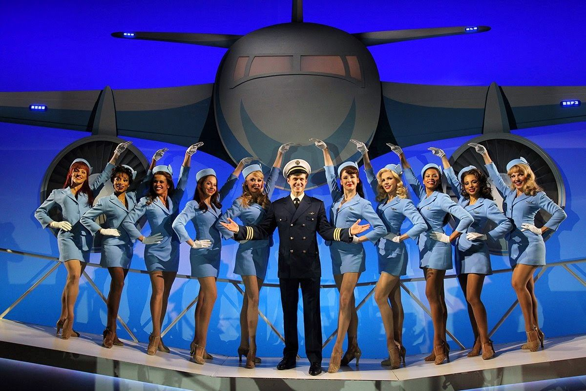 Catch Me If You Can Musical Google Search First Class