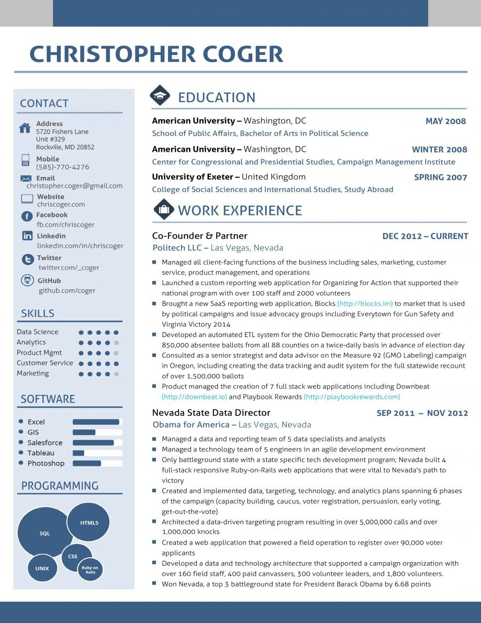 We\'ve already put together a traditional CV template, but if you ...