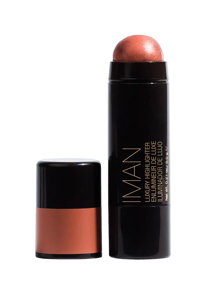 Luxury Highlighter Iman cosmetics, Lip colors, Lip gloss