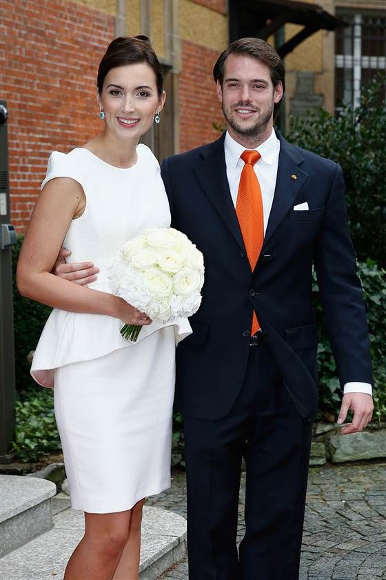 Luxembourg Prince Marries Commoner In Laid Back Civil Service In