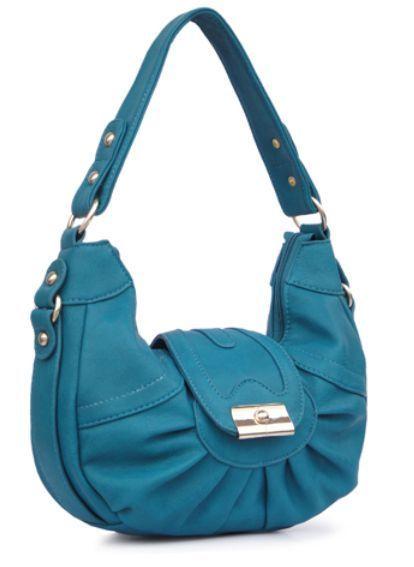 4bdbdbb98112 B.lush by passion handbag pocketbook turquoise purse  130306-t