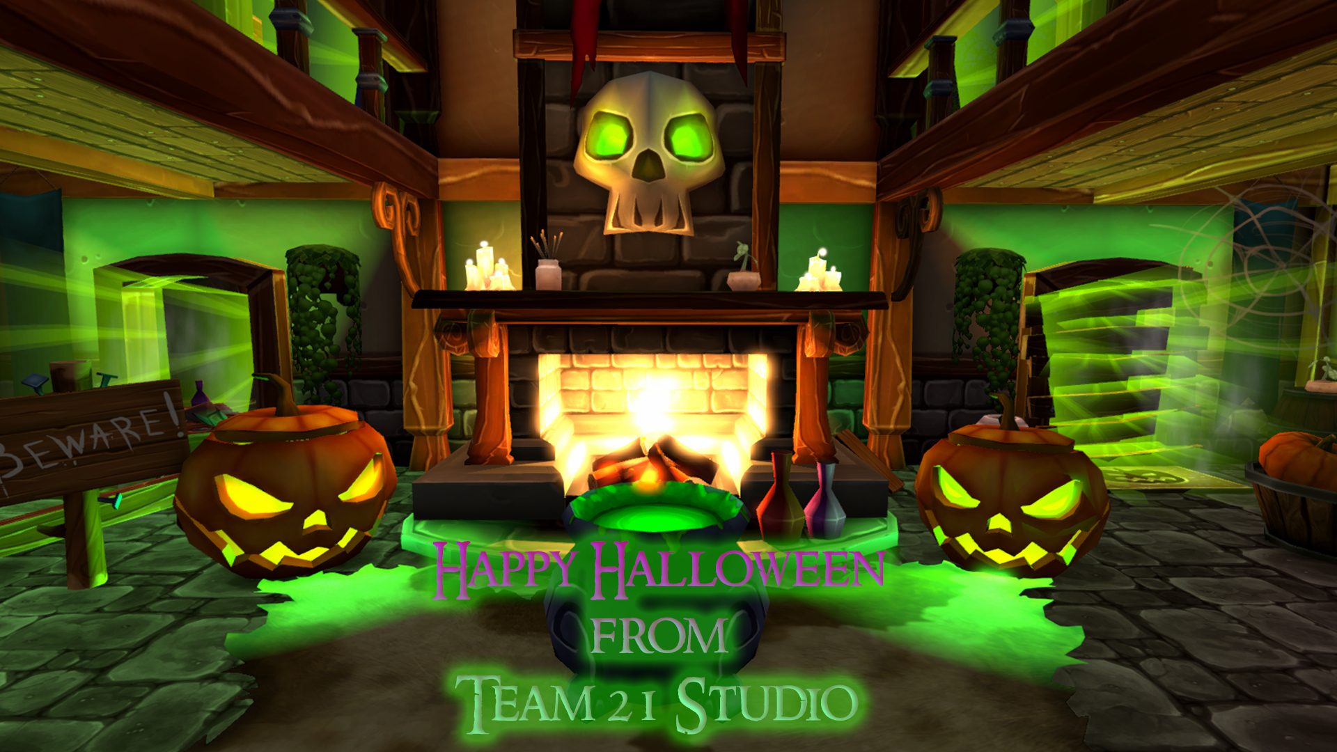 Happy Halloween from Team 21 Studio! Thank you to everyone