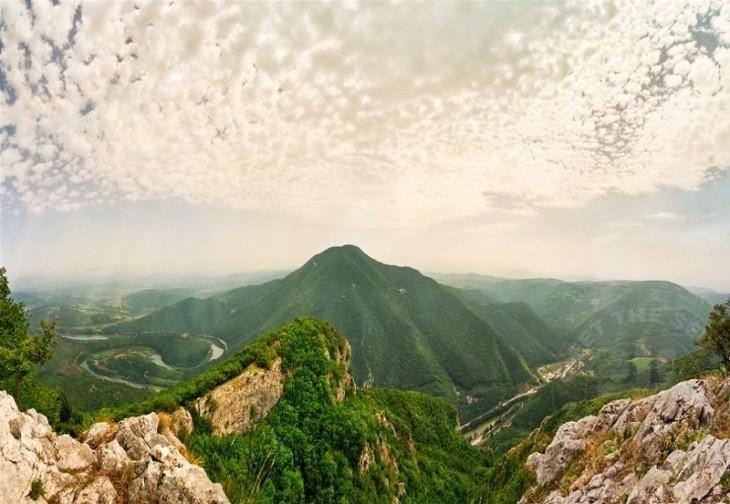 Fascinanting view from mountain #Kablar to mountain #Ovčar... #Serbia #mountains #BeautifulSerbia