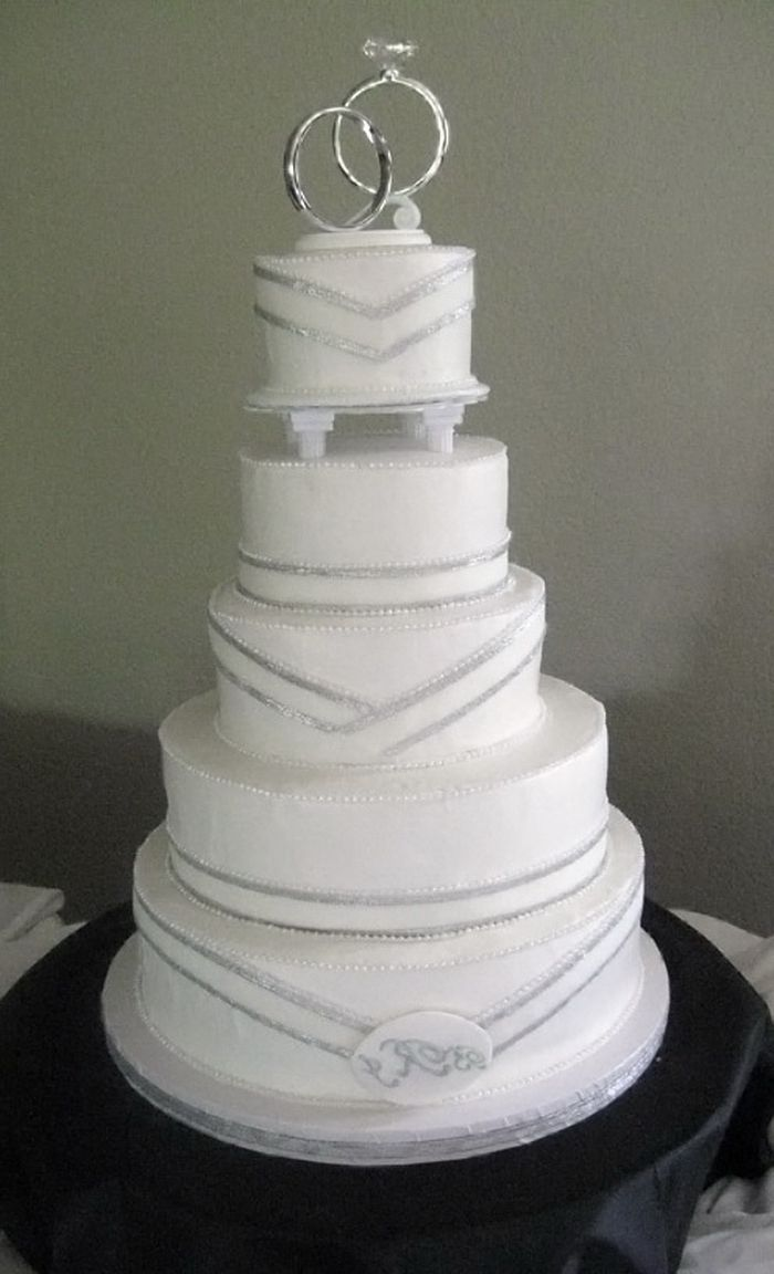 Albertsons Wedding Cakes Silver Wedding Cake Wedding Cake Designs Fondant Wedding Cakes