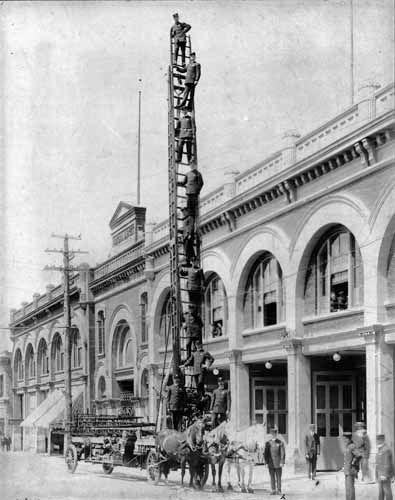 Victoria Fire Department Headquarters  1912