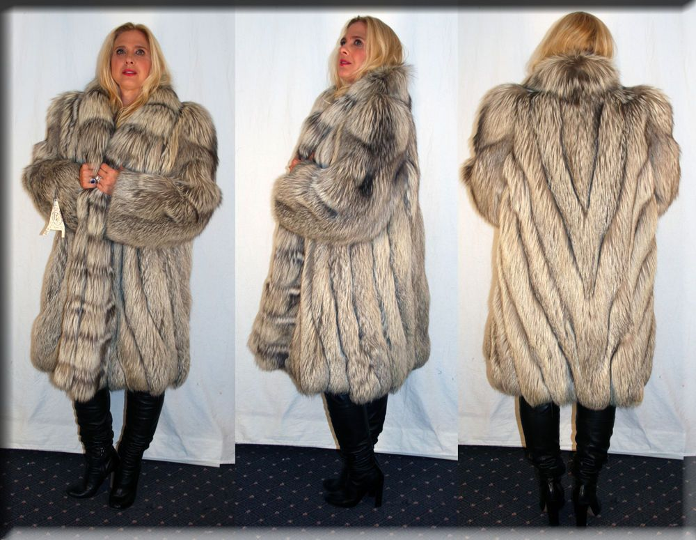 New White Mink Fur Earmuffs Efurs4less