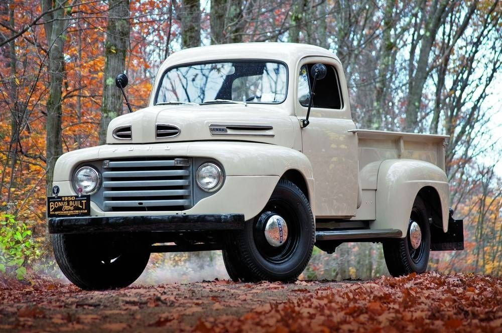 1950 Ford F3 Pickup Truck Ford Trucks Classic Trucks Trucks