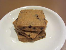 Cooker Girl: Espresso Chocolate Chip Shortbread Cookies