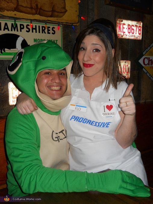 Love at First Insurance Deal Costume Halloween costume contest - unique couples halloween costumes ideas