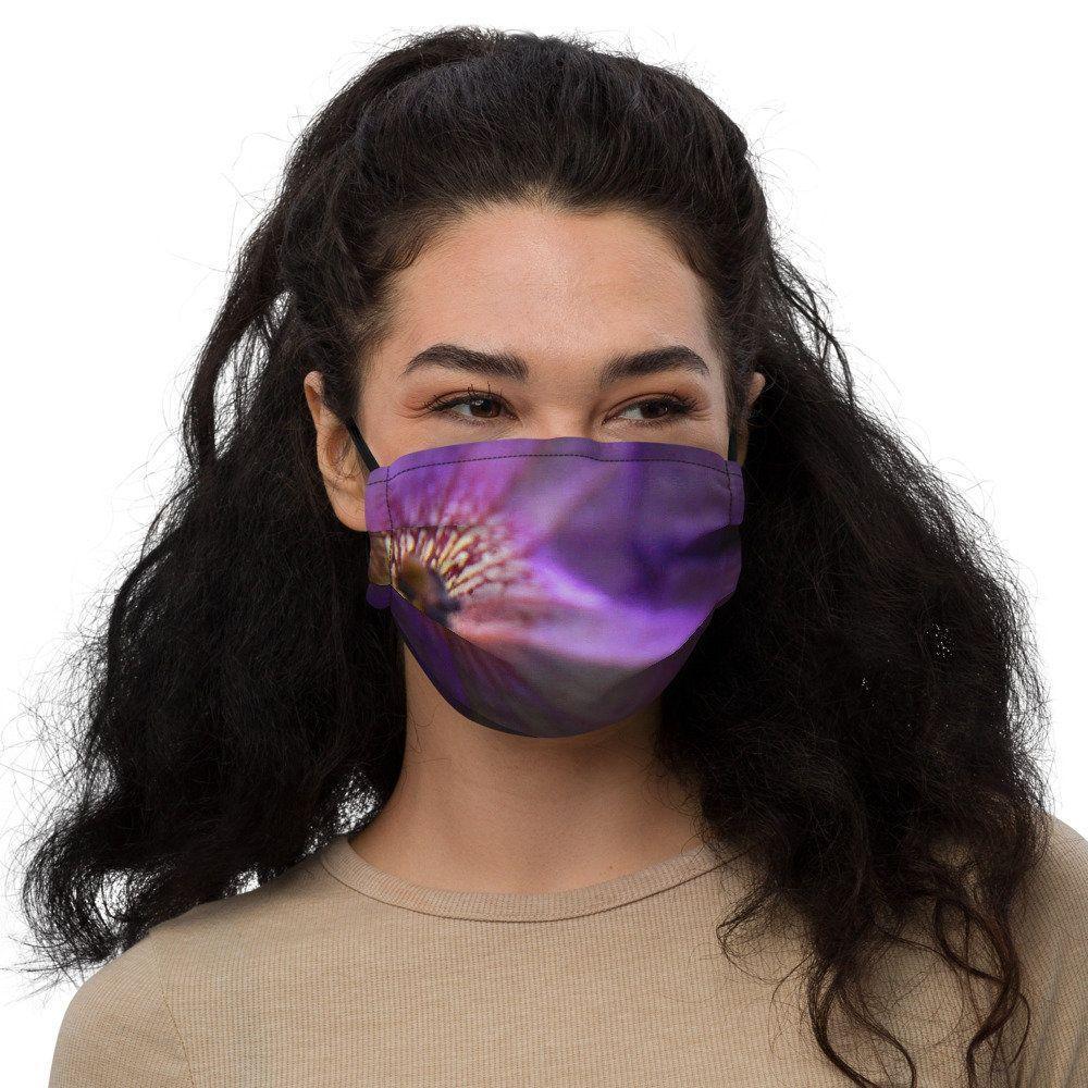 Face mask  Purple Petunia | Etsy Face mask - Purpl