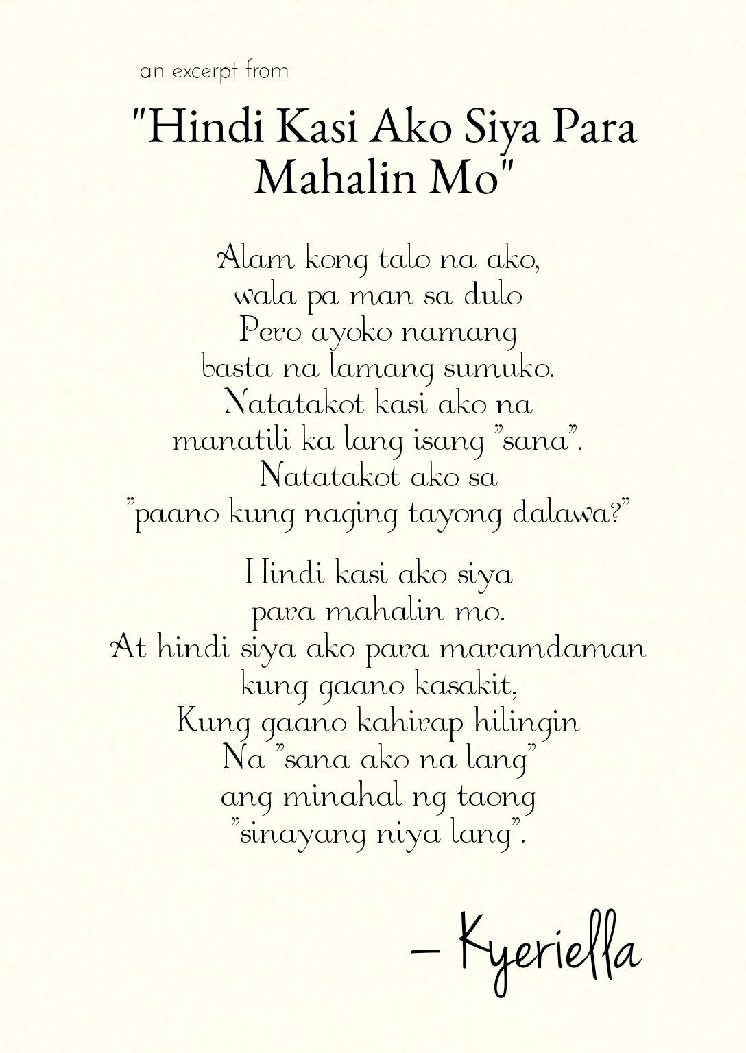 Bisaya Spoken Words Poetry