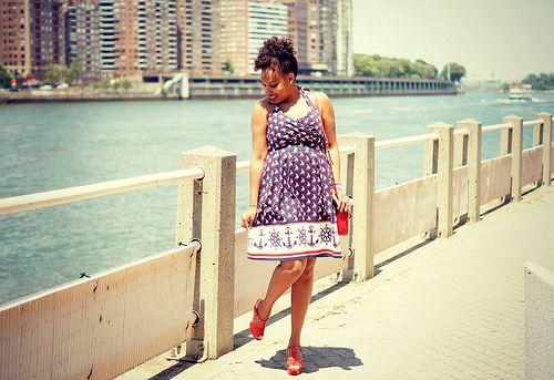 anchor-print-dress2 by ClosetConfection