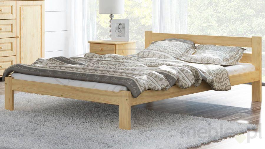łóżko Drewniane Mato 160x200 Eko Magnat Producent Mebli