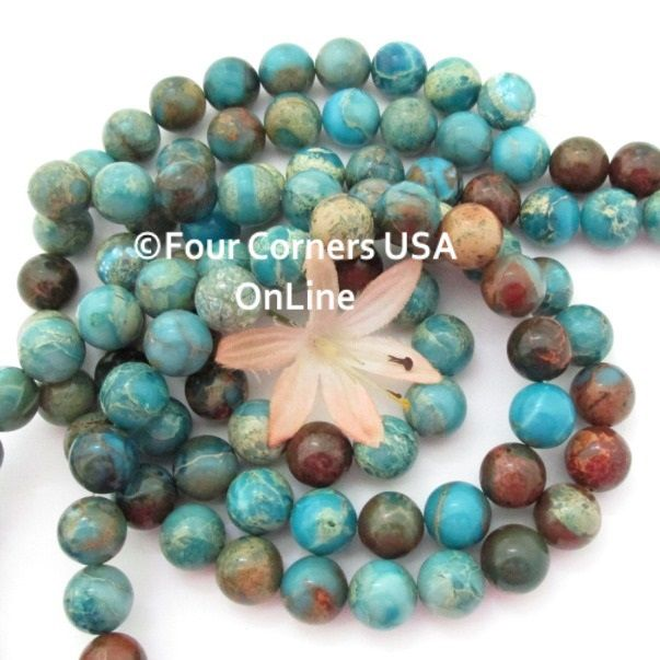 beads kingman pin tq turquoise inch strands online usa rondelle green copper