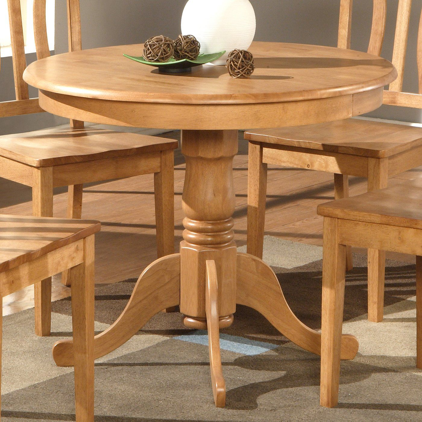 193 Wooden Imports Ad01 T Antique 36 Round Dining Table Home Furniture Showroom Round Wood Dining Table Dining Table Kitchen Table Oak