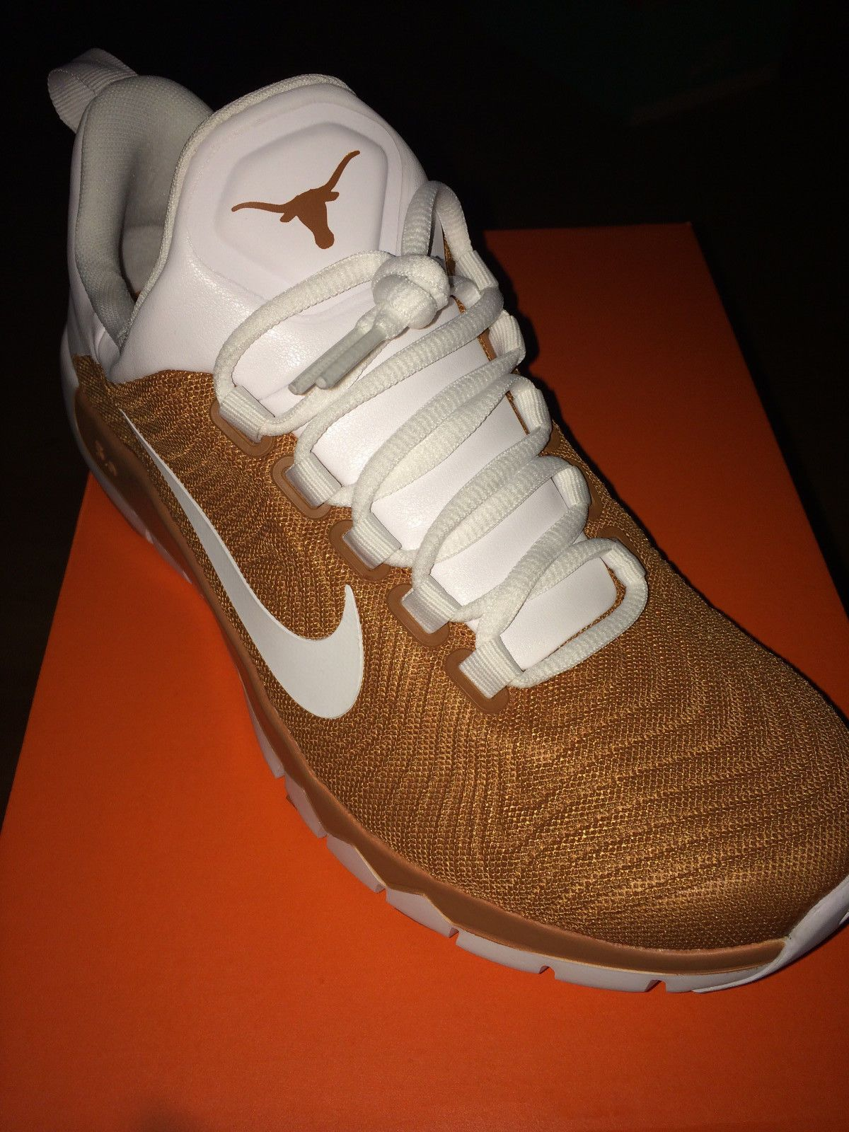 air nike shoes longhorns logos 841050