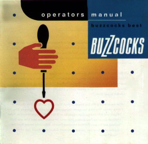 buzzcocks operators manual by malcolm garrett music to my eyes rh pinterest com Manual Valve Operators MTD Products Manuals