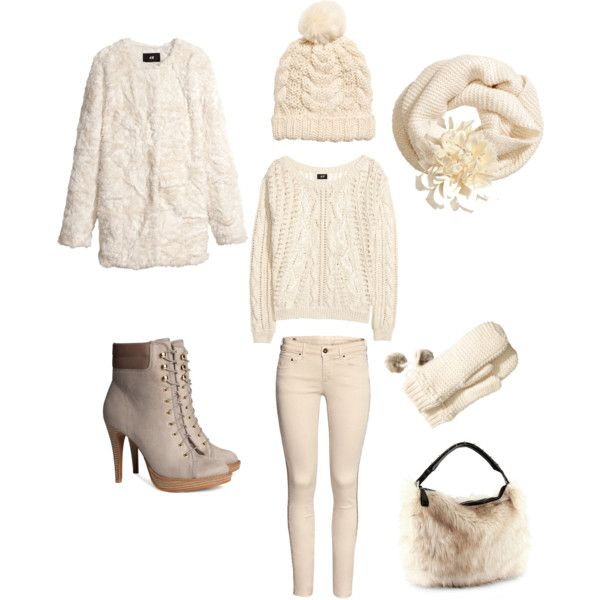 Affordable Winter Look: H&M by maya-horikawa, via Polyvore