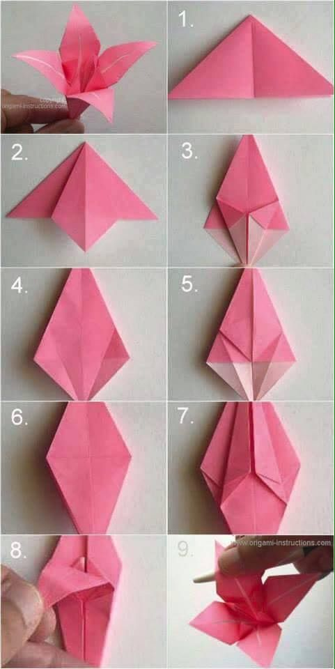 Pin by alis on diy decor pinterest origami origami bag and quilling heres our diy origami lily vintage wedding corsage boutonnire tutorial for the paper lover in you mightylinksfo