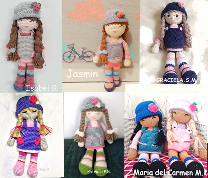 Versiones de la muñeca Anni | Amirugumis | Pinterest | Las muñecas ...