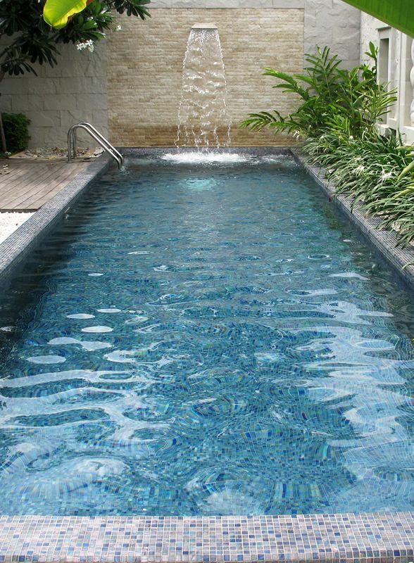"#Mosaic: #Brillante custom mix  (2 x 2 cm ∙ 3/4"" x  3/4"") - Private #Pool - Thailand"
