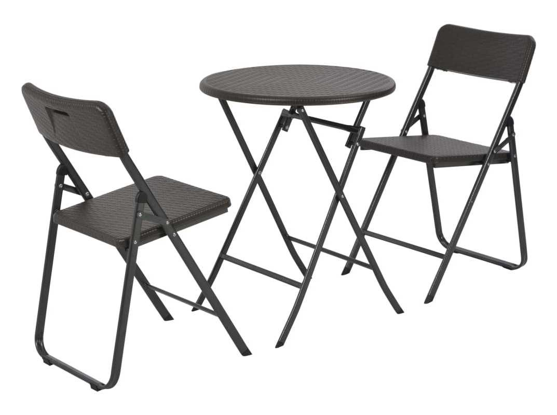 Salon de jardin | Bistro set, Furniture, Outdoor rooms