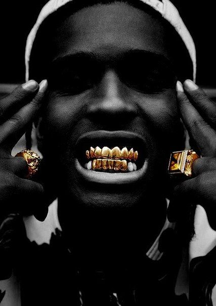 Gold Grills Teething Pinterest Aap Rocky Hip Hop And Rap