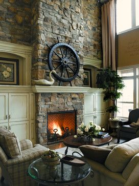 the charm of built in cupboards best of pinterest home fireplace rh pinterest com Tall Fireplace Lava Rock Tall Electric Fireplace