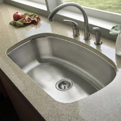 Farmhouse Undermount Kitchen Sink Stainless Steel Undermount