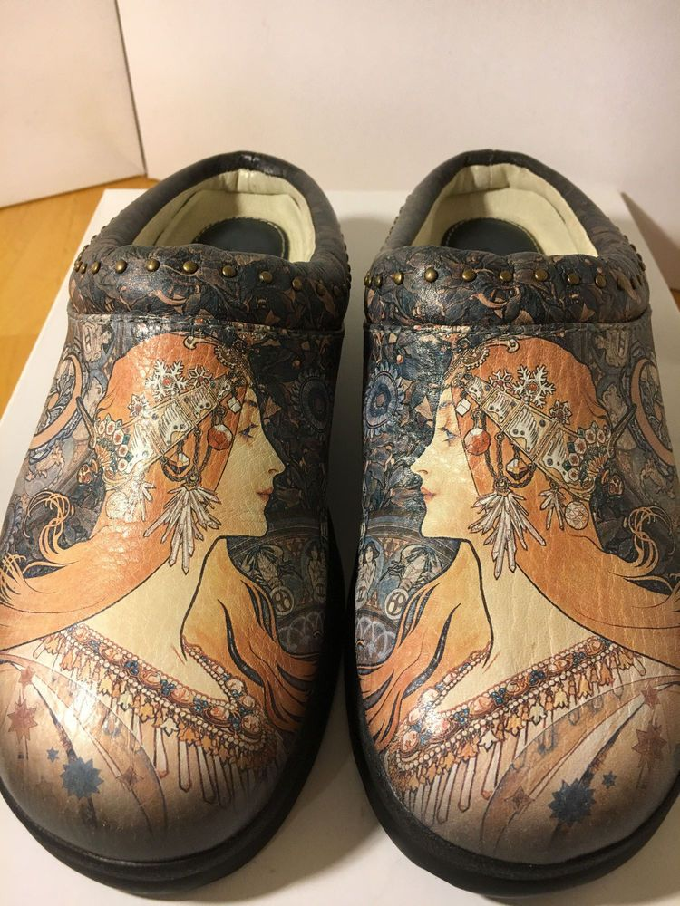 Icon Size 5B Art Women's Clogs Mules Shoes NEW #Icon #MulesClogs