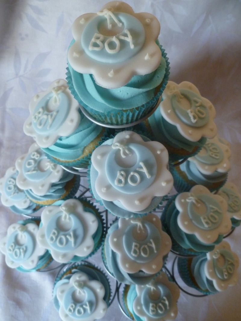 Baby Shower Cupcake Cakes Boy : BUTTER CREAM BABYSHOWWER CAKES Tasty yellow cake cup ...