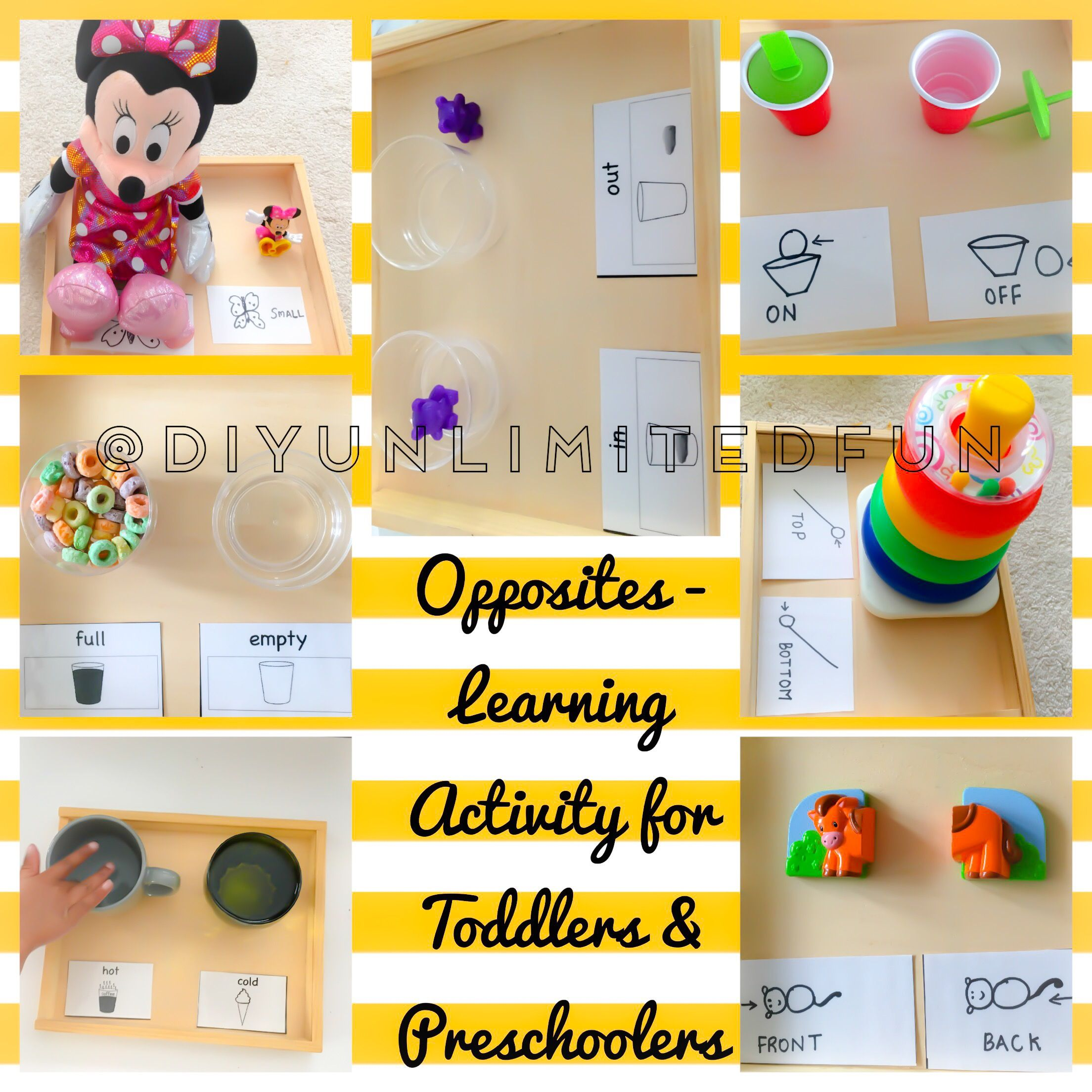 Image Result For Opposites Preschool Activities