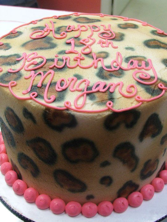 zebra cake recipe leopard birthday cake by cake amp all things in 1542