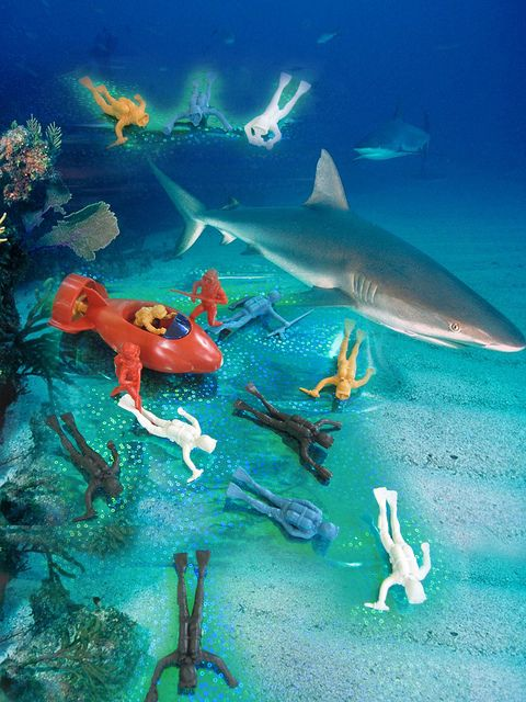 Now in stock! Bag O Scuba Divers! (Sharks, Reef & Water not included)