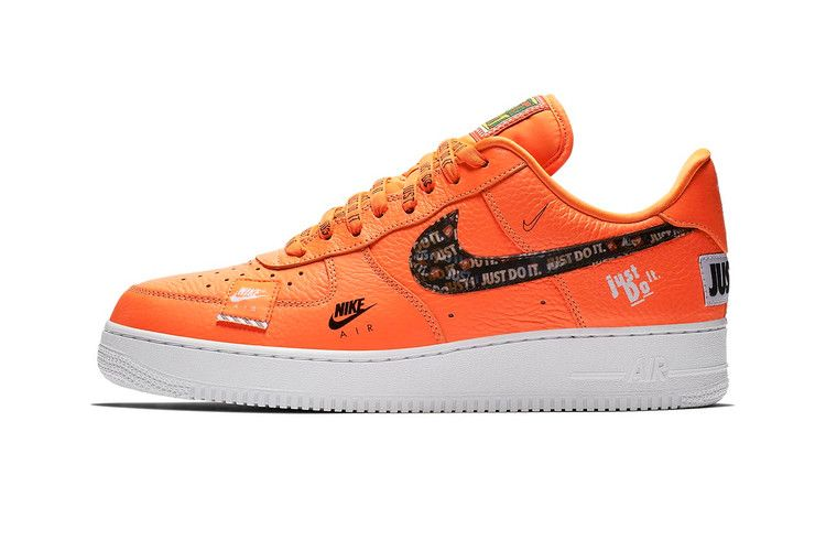 Official Photos Of Nike Air Force 1 Just Do It In Orange Nike