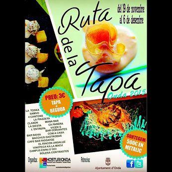 Este jueves comienza la V Ruta de la Tapa de Hosturionda (24 fotos) http://www.eltriangulo.es/contenidos/?p=60056 Google+